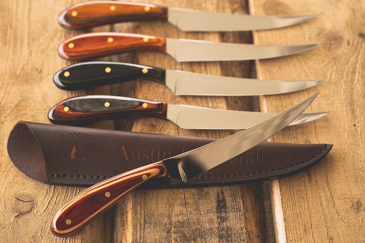 mn fillet knife 5 knife special deal