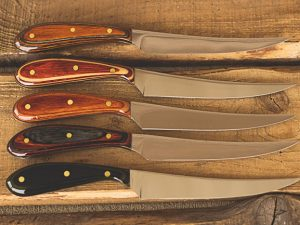 trout series knife group lineup